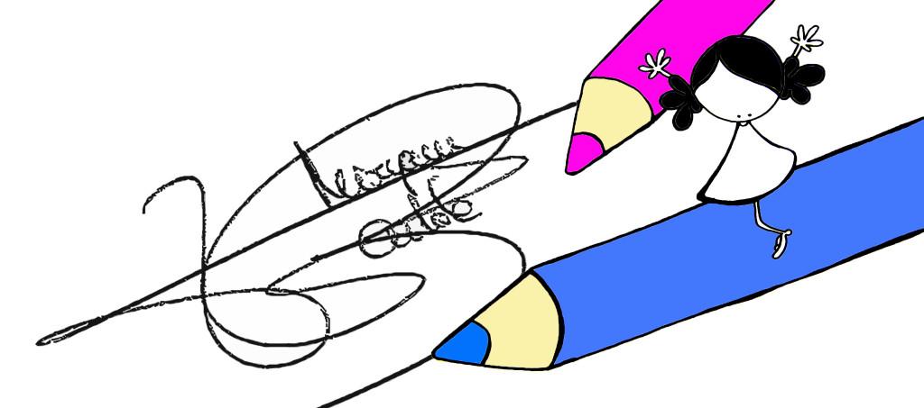 firma miry con dibujo