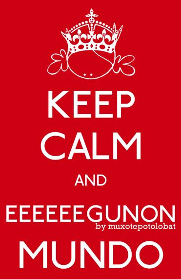 Keep kalm and egunon mundo by mpb web