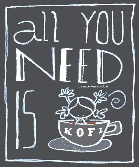 all you need is kofi web
