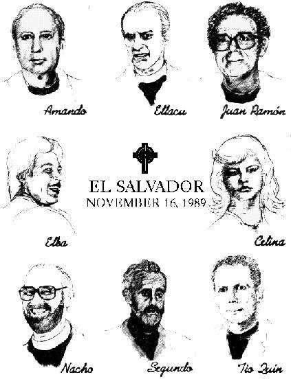 martires de la UCA, nov 16 1989