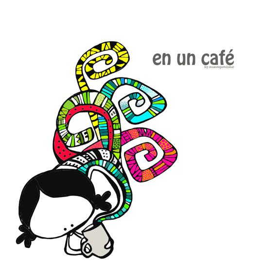 I nid a kofi (en un café)