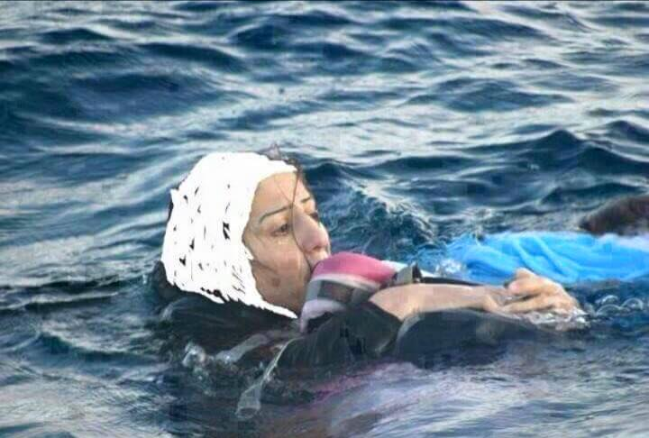 syrian mother (seen on social networks)