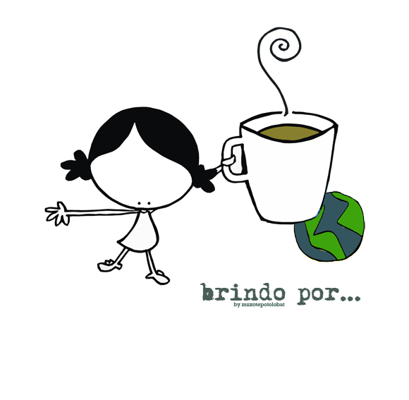 eeegunon mundo with a good coffee