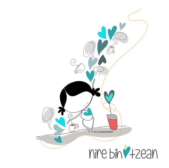nire-bihotzean